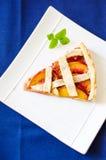Nectarine pie Royalty Free Stock Image