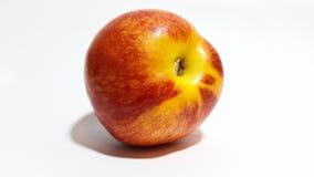 Nectarine. Studio fresh nectarine Royalty Free Stock Images