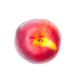 Nectarine top Royalty Free Stock Photography