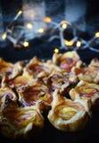 Nectarinerozen van bladerdeeg royalty-vrije stock fotografie