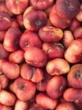 Nectarines Images libres de droits