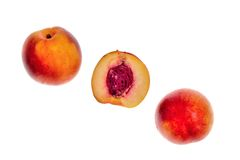 The nectarines Royalty Free Stock Photography