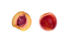 The nectarines Stock Image