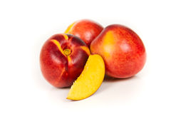 Nectarines Photographie stock