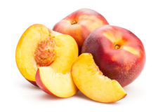 Nectarines Image libre de droits