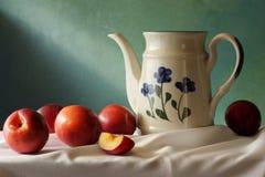 Nectarines Photo libre de droits