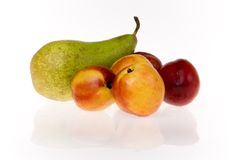 Free Nectarines And Pear Stock Images - 5600374