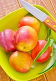 Nectarines Stock Photo