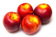 Nectarines mûres Photos libres de droits