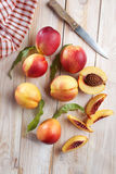 Nectarines Royalty Free Stock Image