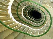 Nedåtriktad spiral Arkivfoto
