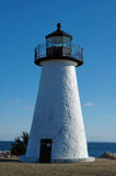 Ned's Point Lighthouse. Mattapoisett, MA royalty free stock images