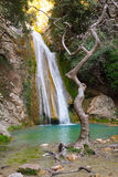 Neda Waterfall in Grecia Immagine Stock