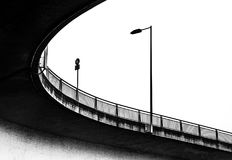nedanför bron arkivfoton