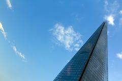nedanför för london för byggnad den tagna höga skyskrapan stigning royaltyfri fotografi