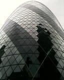 nedanför för london för byggnad den tagna höga skyskrapan stigning Royaltyfria Bilder