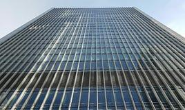 nedanför för london för byggnad den tagna höga skyskrapan stigning Arkivbild