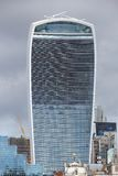 nedanför för london för byggnad den tagna höga skyskrapan stigning Royaltyfri Foto