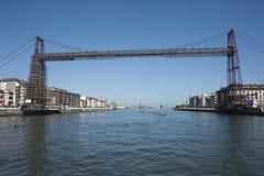 nedanför fartyg bridge för den september för dagen trevligt vatten inställningen Arkivfoton