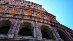 Nedanför på colosseum royaltyfri bild