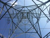 nedanför pylonen Royaltyfri Bild