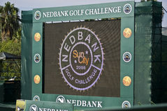 Nedbank million de tournoi 2008 du dollar Photographie stock