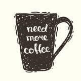 Nedd meer koffie Stock Foto