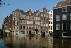 Nederländerna Amsterdam, byggnader Royaltyfri Foto