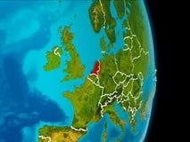 Nederländerna på jord Royaltyfria Foton
