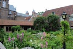 Nederländerna Utrecht, trädgård Royaltyfri Foto