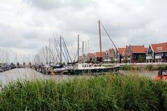 Nederländerna Volendam Fotografering för Bildbyråer