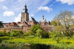 Nederländernan zutphen Royaltyfri Fotografi