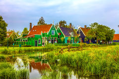 nederländsk schanszaanse Royaltyfria Bilder