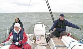 nederländsk segling Arkivbild