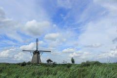 nederländsk windmill arkivfoton