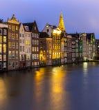 Nederländska Amsterdam kanaler Royaltyfri Fotografi