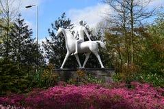 Nederländska Keukenhof royaltyfri fotografi