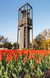 Nederländskt klockspel i Arlington Virginia Arkivfoto
