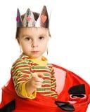 Nederlag för liten unge royaltyfri foto
