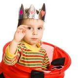 Nederlag för liten unge fotografering för bildbyråer