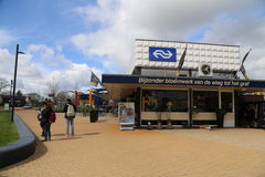 Nederland - 13 april: Steenwijkpost in Steenwijk, Nederland op 13 April 2017 Stock Afbeelding