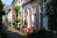 Nederland, Straat van Delft Stock Foto