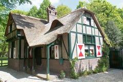 Nederlands Buitenhuis royalty-vrije stock fotografie