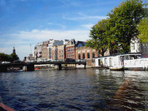 The Nederlands capital sity of Amsterdam Stock Photos