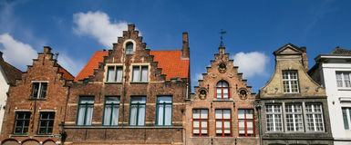 Nederlands dorp Stock Foto's