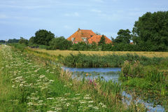 Nederlands dorp Royalty-vrije Stock Foto's