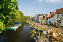 Nederlands dorp Naarden Royalty-vrije Stock Foto's