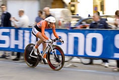 Nederlands, Floortje Mackaij . UCI road world championshi Royalty Free Stock Photos