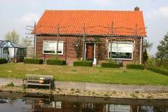 Nederlands huis Stock Afbeeldingen