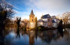 Nederlands kasteel in Boxtel Stock Foto
